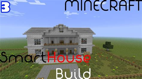 how to build a redstone house smart house super build episode 3 minecraft redstone tutorial youtube