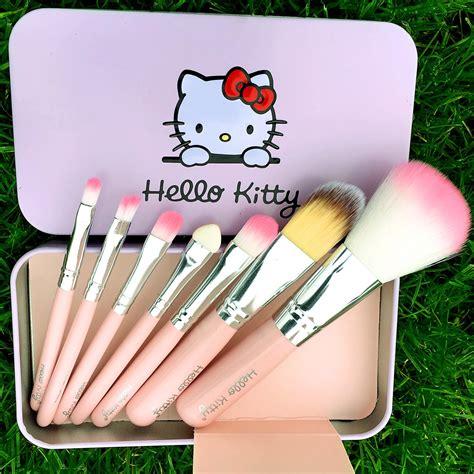 Make Up Brush 7 In 1 Black Hello new 2016 black hello make up cosmetic brush kit