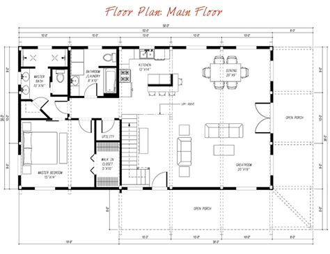 Pre House Plans by Pre Designed Wood Barn Home Great Plains Eastern