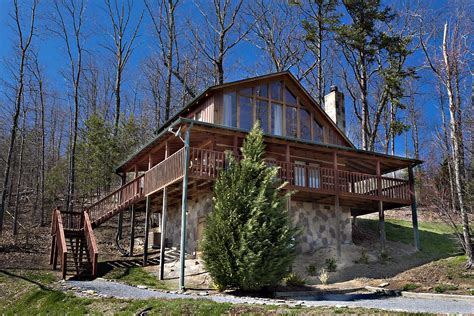 Cabin In by Awesome View 1 Bedroom Cabin From Hearthside Cabin Rentals