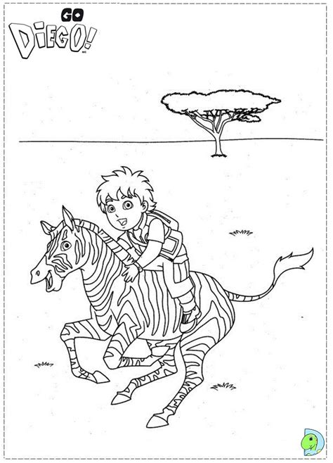 kids coloring pages diego freecoloring4u com