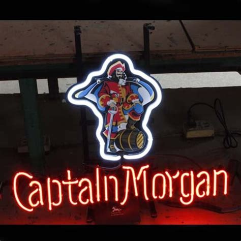 captain neon sign neonsignsus