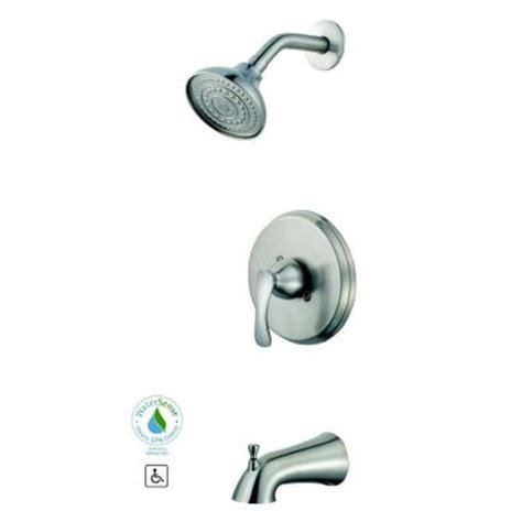 Glacier Bay Shower Faucet by Glacier Bay 873 W504 Single Handle Tub And Shower Faucet