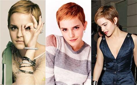 Emma Watson Rambut Pendek | til cantik dengan rambut pendek ala emma watson