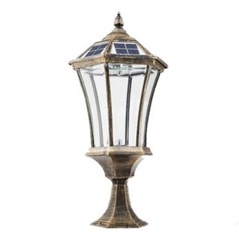 bronze solar lights outdoor antique bronze 21 h vintage solar led light outdoor