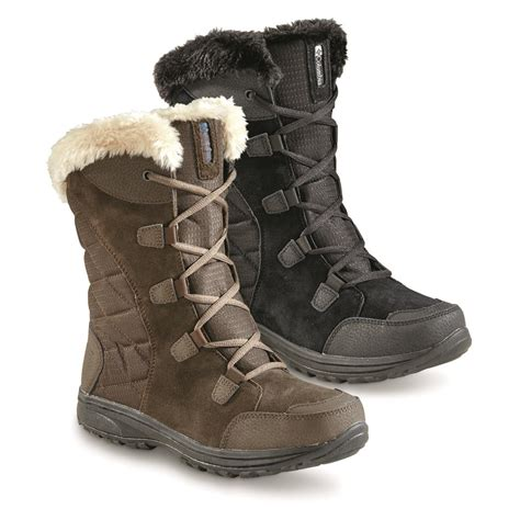 columbia s snow boots columbia s maiden ii lace up waterproof boots