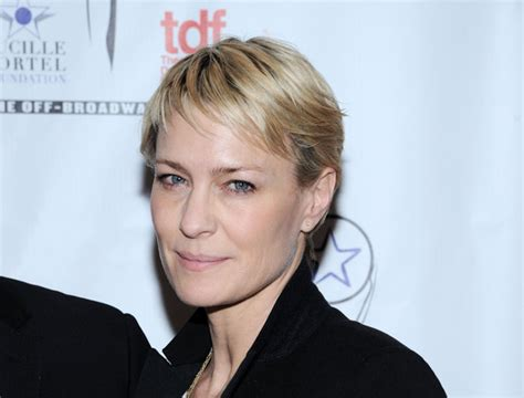 robin wright penns short hair more pics of robin wright pixie 1 of 9 pixie lookbook
