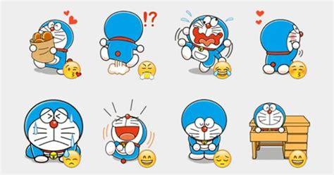 Sticker Set Doraemon By Paupery doraemon 2 stickers set telegram stickers telegram