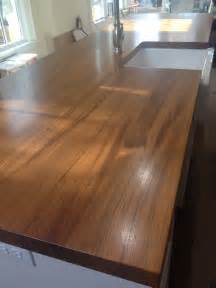 Wooden Kitchen Countertops Wood Countertops With Sinks Wood Countertop Butcherblock And Bar Top