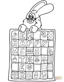 printable quilting games easter quilt coloring page free printable coloring pages