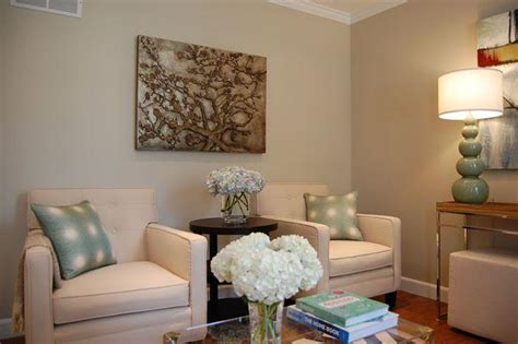 greige paint contemporary living room benjamin grant beige