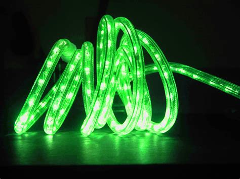 green rope light green led rope light 150 halloween