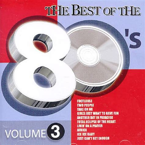 best of 80s best of the 80 s vol 3 various artists songs