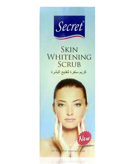 secret skin scrubs secret skin whitening scrub pakcosmetics