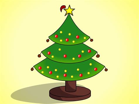 christmas tree drawing how to draw christmas trees with pictures wikihow