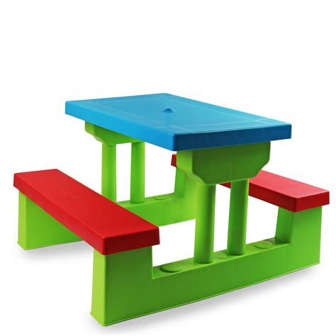 childrens bench table kids childrens picnic bench table set outdoor furniture