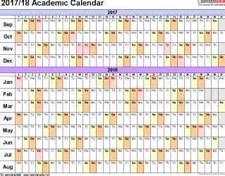free printable academic year planner academic calendars 2017 2018 as free printable pdf templates