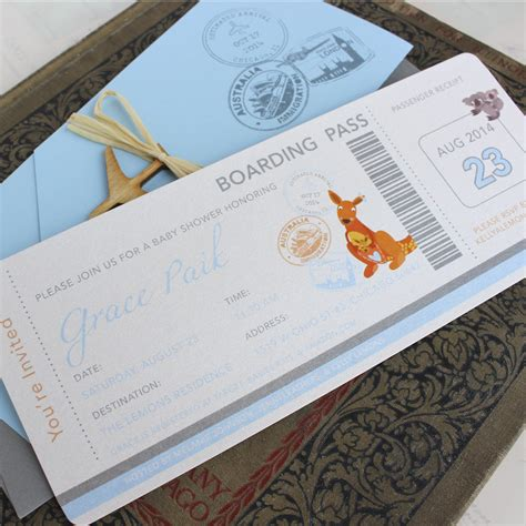 Unique Baby Shower Invitations by Inspiring Unique Baby Boy Shower Invitations To Inspire