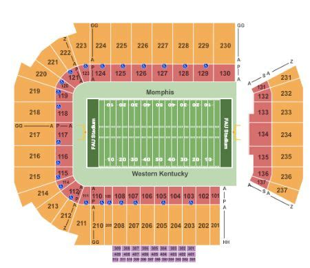 fau stadium   fau stadium seating chart buy
