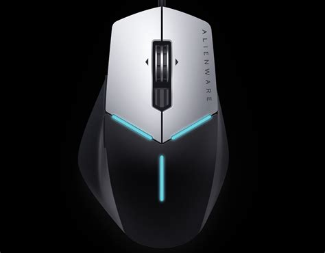 Mouse Alienware alienware finally into pc peripherals with its own gaming keyboards and mice pcworld
