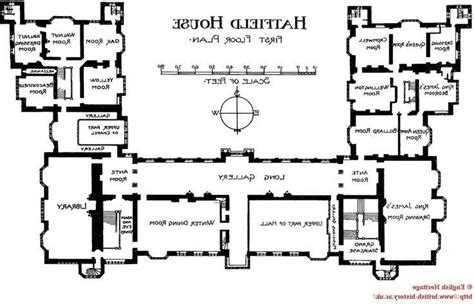 hatfield house floor plan british house plans photos