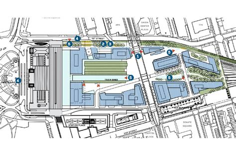 union station dc floor plan amtrak announces ambitious eco plans for hok designed overhaul of washington d c s union