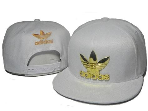 Topi Snapback Gold mens adidas the adidas original gold metal logo novelty trending fashion snapback cap white