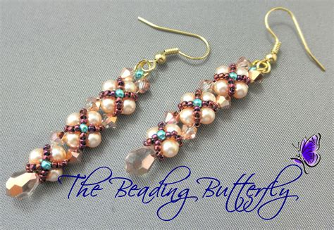 beaded earrings patterns free the beading butterfly networkedblogs by ninua