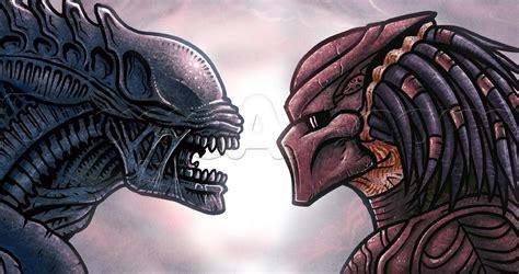 vs predator drawings how to draw vs predator step by step pop