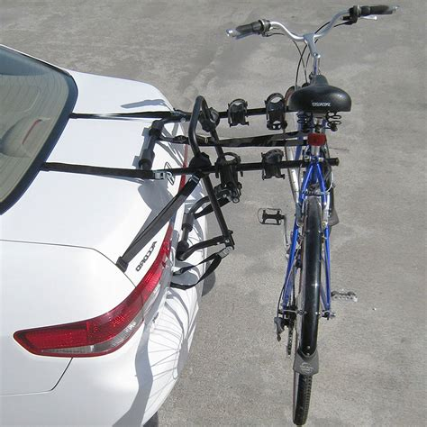 Bike Racks For Vehicles by Car Trunk Bike Rack In Car Bike Racks