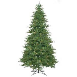 9 foot slim mixed country pine christmas tree unlit