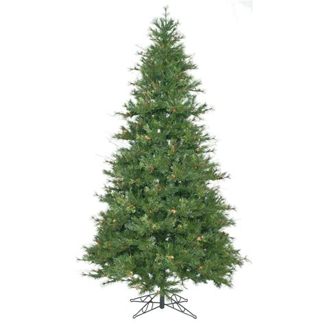 9 foot slim mixed country pine christmas tree unlit a801680