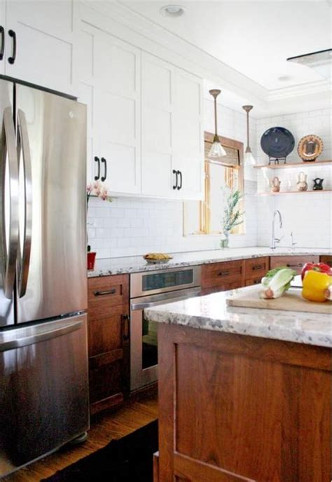 two toned kitchen cabinet trend trend alert two toned kitchen cabinets rc willey blog