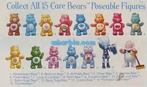 care bear names 15 care bears poseable