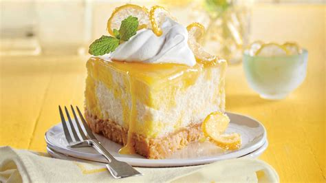 Decorating Tips For Apartments dreamy lemon cheesecake recipe southern living