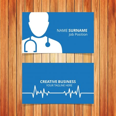 doctor business card template psd free business card psd images card design and