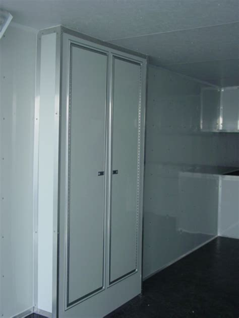 Enclosed Trailer Cabinets by Cabinet Photos For An Enclosed Trailer Living Quarter
