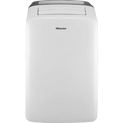Hisense 12,000 BTU Portable Air Conditioner with I Feel Temperature Sensing Remote Control