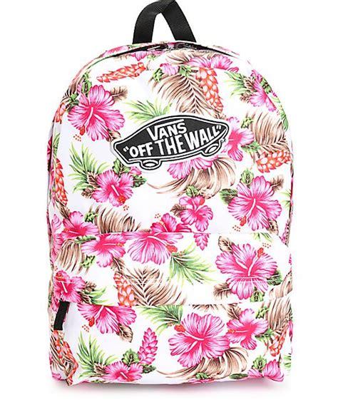 zaino vans fiori vans donna realm hawaiano zaino vans donna 32 21