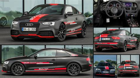 audi rs tdi concept  pictures information specs