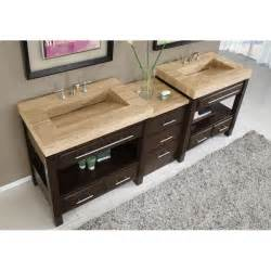 two sink bathroom countertop silkroad exclusive travertine countertop sink