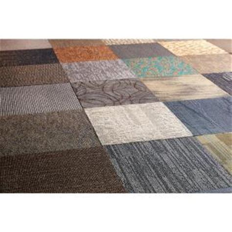versatile assorted commercial 18 in x 18 in carpet tile 10 tiles case ncvt1818 the home depot
