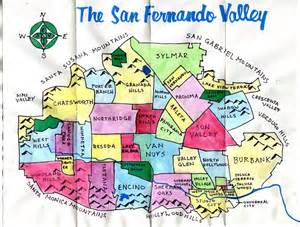 San Fernando Valley Zip Code Map by The Nobody Drives In La Guide To Ciclavia The Valley