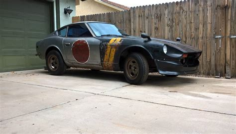Yellow Barn War Paint 1978 Datsun 280z