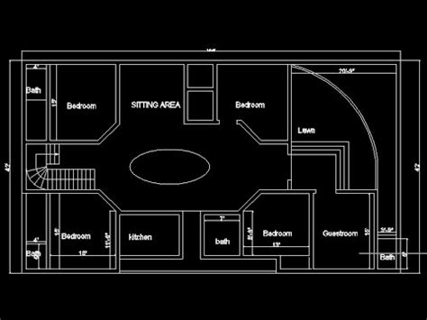 autocad 2d plans for houses 2 43 mb free 4 bedroom house plans and designs mp3 home pages player