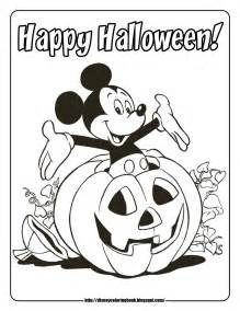 disney halloween coloring pages pdf only coloring pages