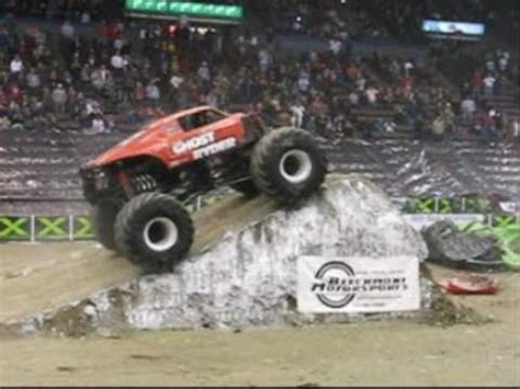 monster truck crash videos youtube monster truck backflip crash youtube
