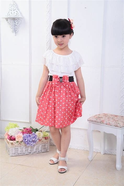 the latest fashion trends for 10 year olds girls kid dot lace colorful point fahion confortable short