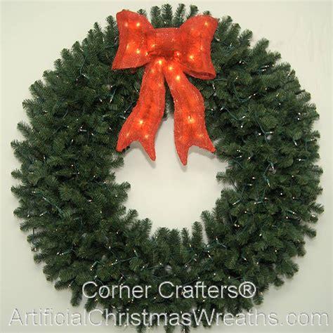 5 foot prelit christmas wreath