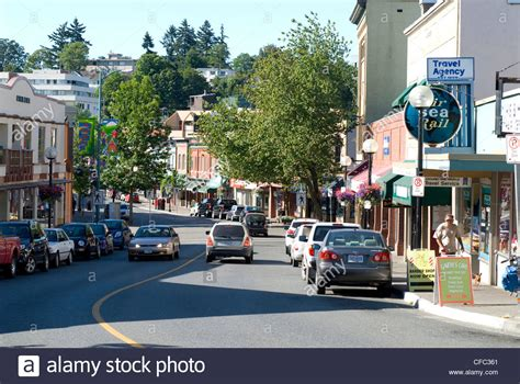 Email Lookup Canada Commercial Downtown Nanaimo Bc Canada Stock Photo Royalty Free Image